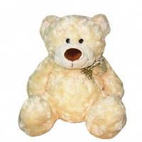 Мягкая игрушка МЕДВЕДЬ белый, с бантом, 40 см GMC