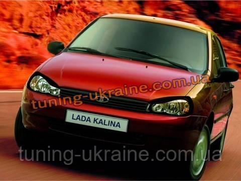 Защита фар на ваз 1118 Spirit lada kalina sedan (лада калина седан)