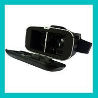Очки виртуальной реальности VR BOX с пультом (черные)!Лучший подарок