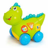 Музыкальная развивающая игрушка дракон Малыш Дино (6105)