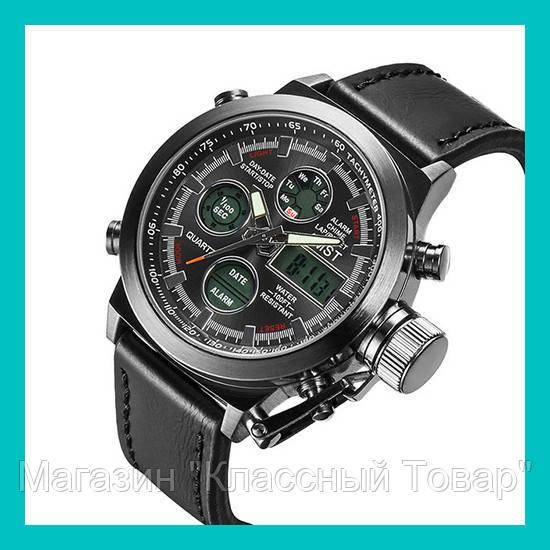 Ручные часы AMST Watch (черные, коричневые)! Лучший подарок