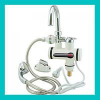 Проточный водонагреватель Deimanо с душем! Лучший подарок, фото 1