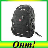 Городской рюкзак Swissgear 1535 + дождевик!Лучший подарок
