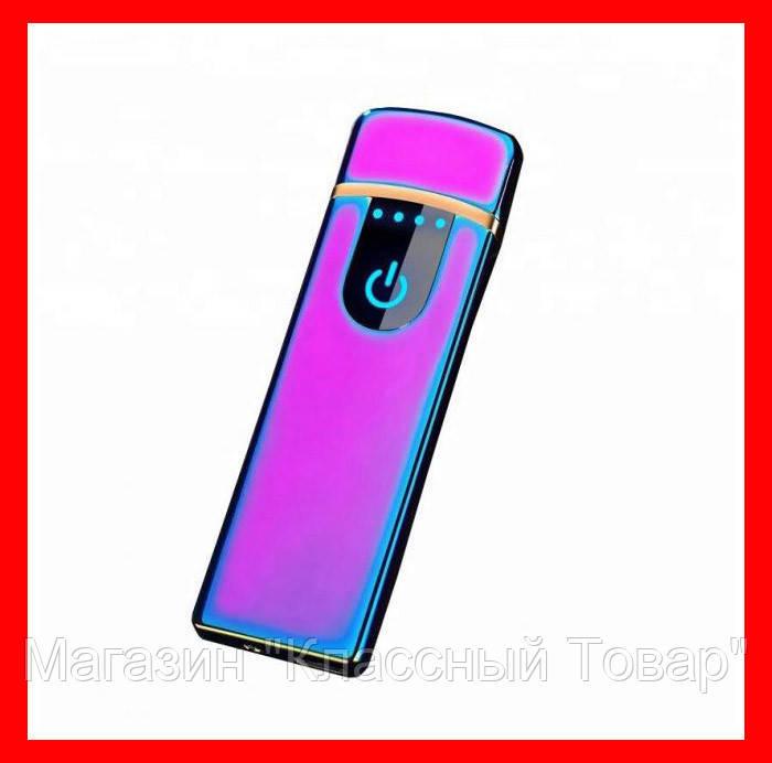 Электроимпульсная USB зажигалка 752!Лучший подарок