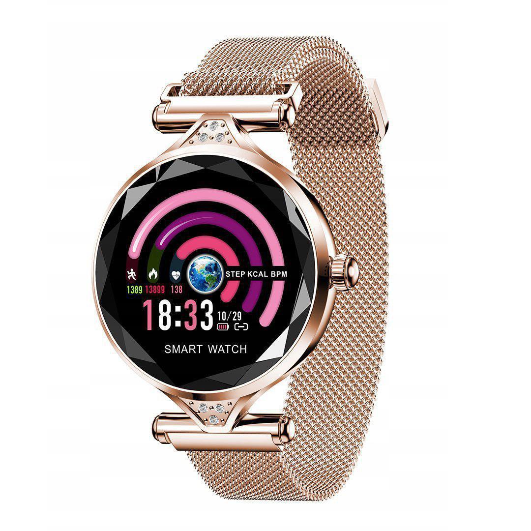Женские смарт часы-браслет Smart Watch H1 (Gold)