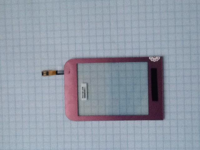 Сенсорный экран Samsung C3300, розовый