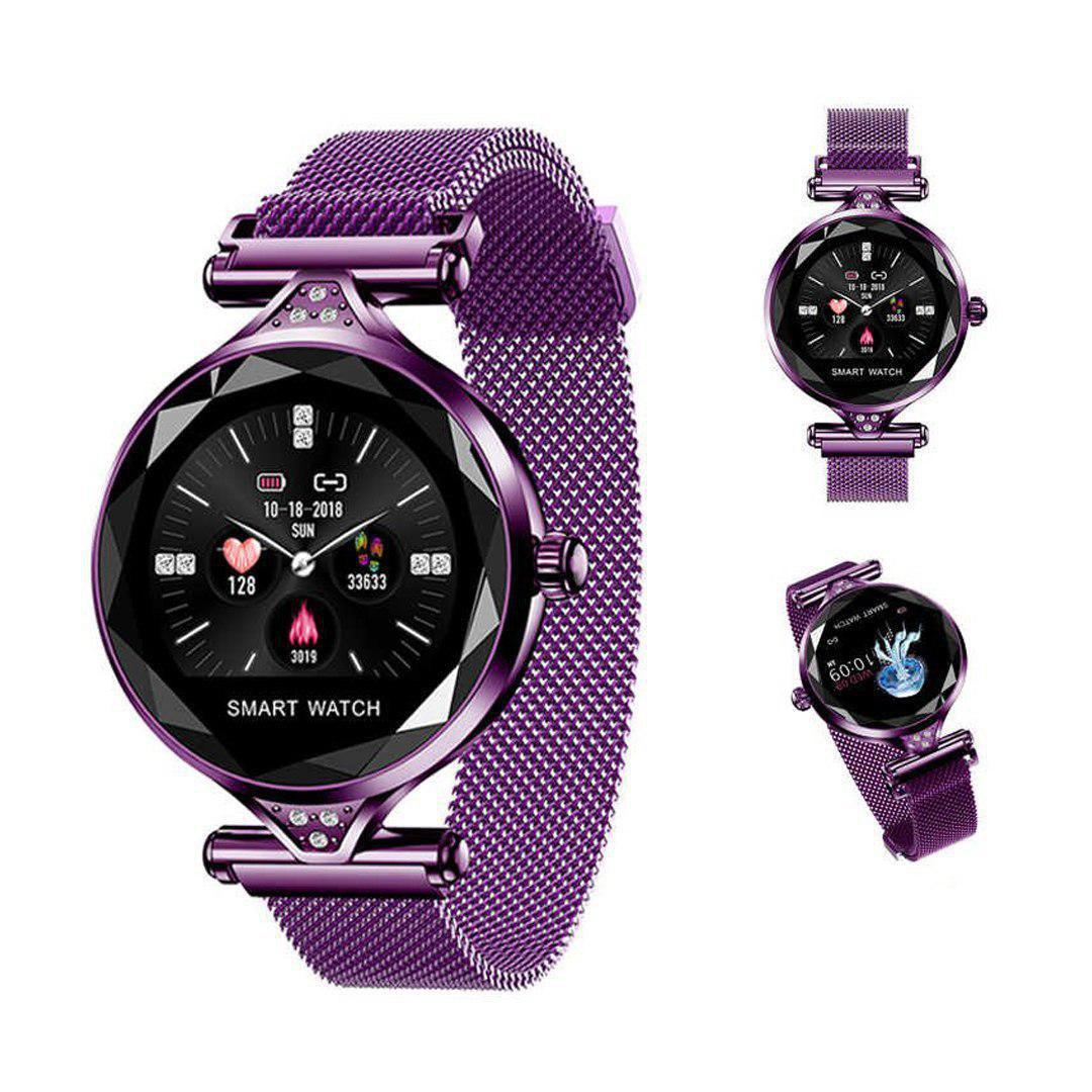 Женские часы-браслет Smart Watch (фиолетовые)