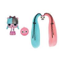 Pop Pop Hair Surprise. Игровой набор МОДНАЯ ПРИЧЕСКА (с расческой и питомцем, в дисплее) (558552)