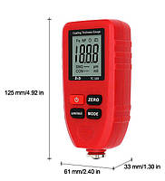 TC100-red толщиномер краски, Fe/NFe, до 1300 мкм, фото 3