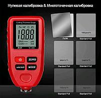 TC100-red толщиномер краски, Fe/NFe, до 1300 мкм, фото 7