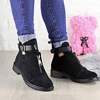 Ботиночки женские черные Puffi 1447, фото 1
