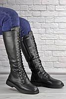 Женские высокие сапоги на шнуровке Rocky 1430, фото 1