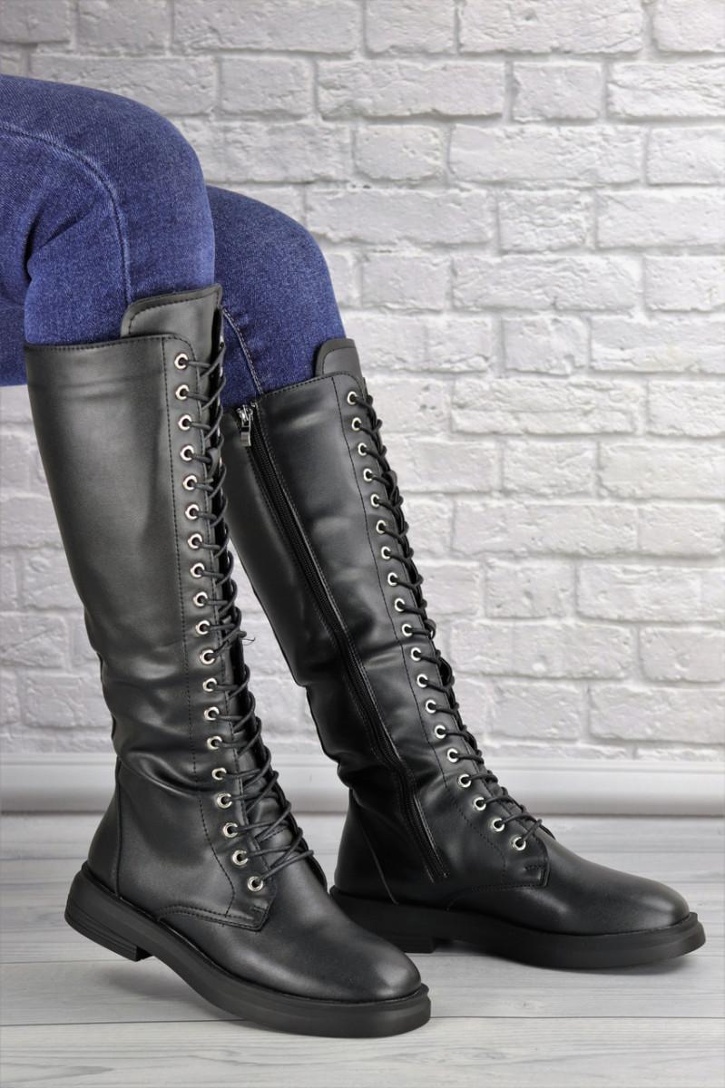 Женские высокие сапоги на шнуровке Rocky 1430