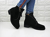 Женские зимние ботинки Louis черные 1107