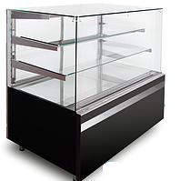 Кондитерская холодильная витрина GASTROLINE CUBE 910 3 полки (куб стекло)