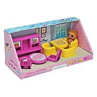 Набор мебели для кукол (гостиная) 8 эл. 39696