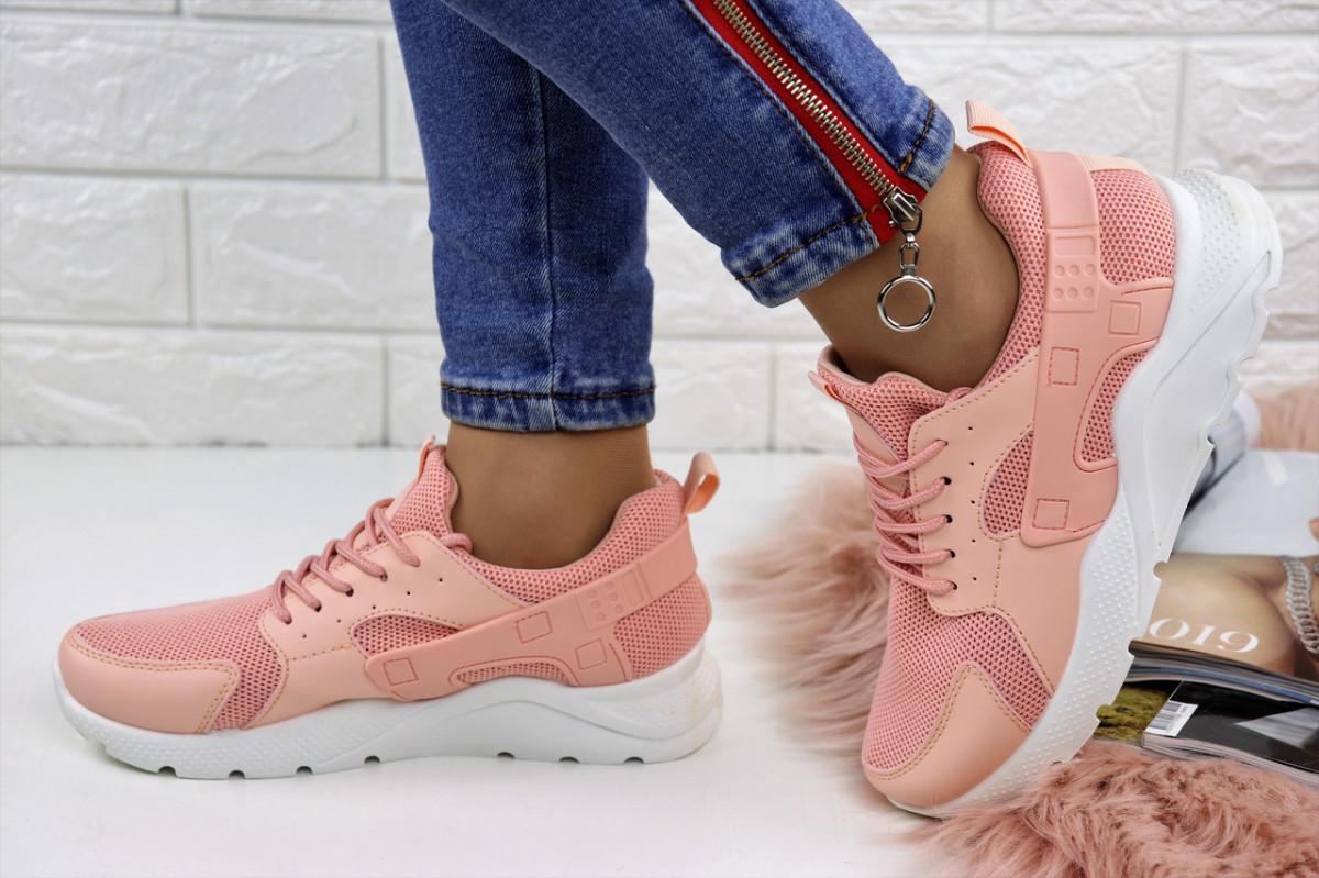 Женские розовые кроссовки Huarache 1111