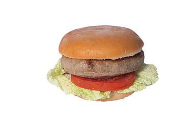 Бургер с куриной котлетой «СHICKEN BURGER»