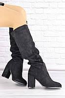 Женские сапоги на каблуке Gizmo 1426, фото 1