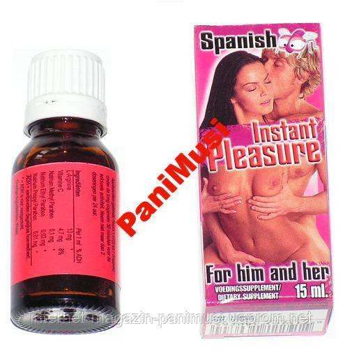 Испанская мушка Очень сильного дейсвия возбудит обоих Spanish Instant Pleassure страстный секс 15мл.
