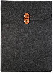 Чехол-конверт из фетра для Macbook Air/Pro 13,3'' - черный