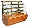 Кондитерская холодильная витрина JAMAJKA 0.9W (гнутое стекло)