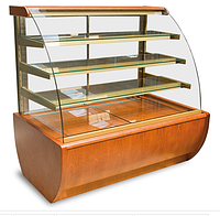 Кондитерская холодильная витрина JAMAJKA 0.9W (гнутое стекло), фото 1