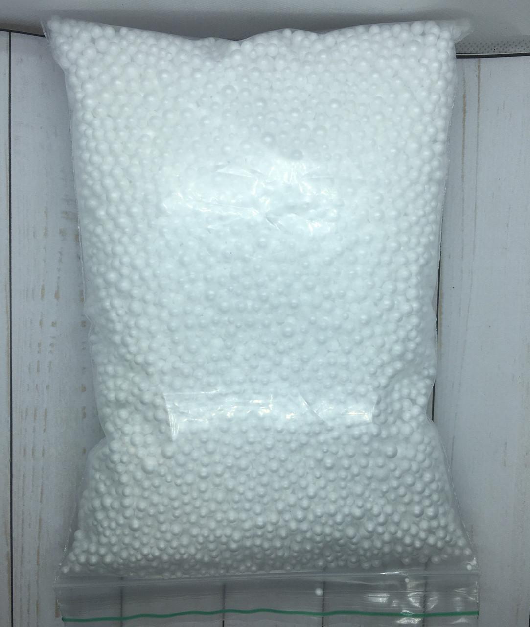 Пенопластовые шарики белые, 800 мл