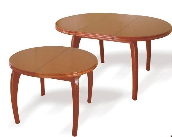 Стол из натурального дерева «Густаво», Стол обеденный раскладной