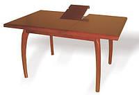 Стол из натурального дерева «Густаво», Стол кухонный раскладной