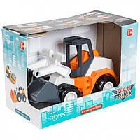 "Авто ""Tech Truck"" в коробке 39478 (Бульдозер)"
