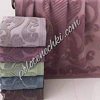 Махровое лицевое полотенце Узор