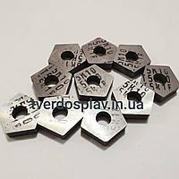 Пластина твердосплавная сменная пятигранная 10113-110408 Т5К10 (PNUA110408)