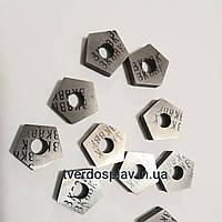 Пластина твердосплавная сменная пятигранная 10113-110408 ВК8 (PNUA110408)