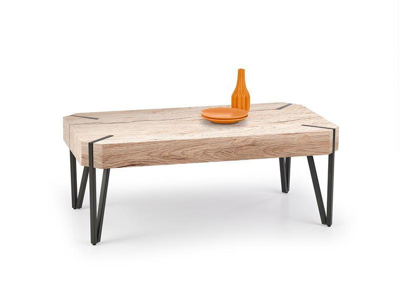 Журнальный стол EMILY дуб Сан-Ремо (110х60х42) (Halmar)