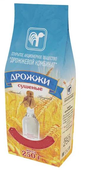 """Дрожжи сушеные """"СПИРТОВЫЕ"""", 250 грамм (Беларусь)"""