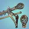 Карниз двухрядный металл Дакар, фото 3