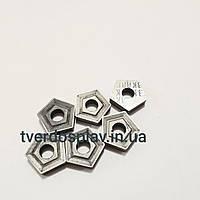 Пластина твердосплавная сменная пятигранная 10114-110408 ВК8 (PNUM110408)