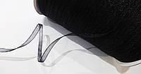 Лента  органза  3.5 мм  черная