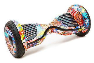 Гироскутер Smart Balance 10.5 дюйм Wheel Графіті