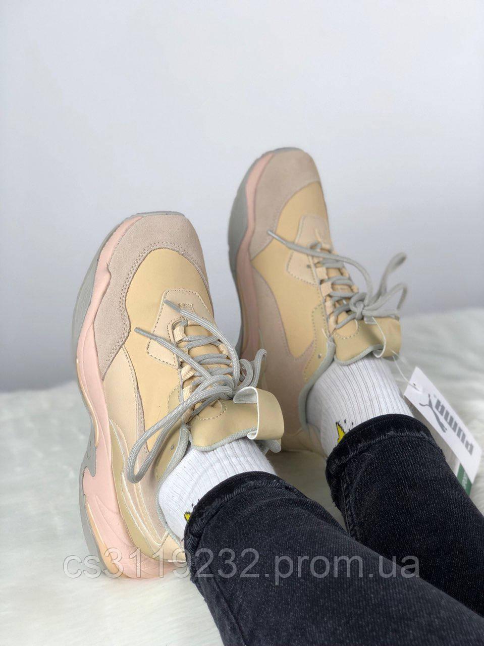 Жіночі кросівки Puma Desert Thunder (кремові)