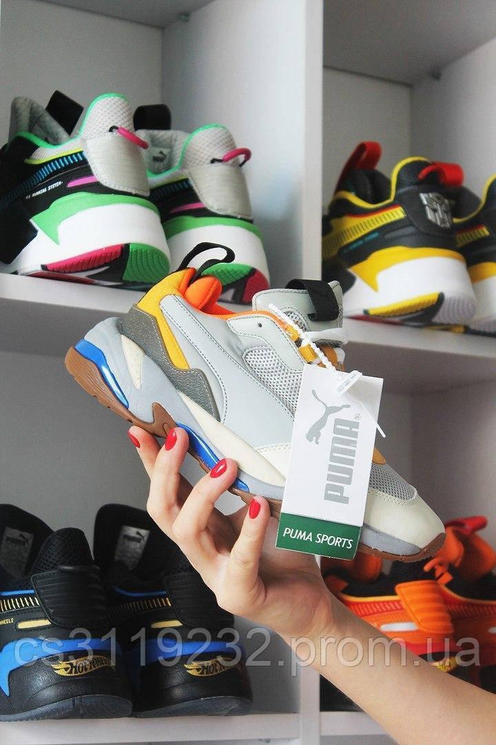 Жіночі кросівки Puma Thunder Spectra Gray Orange (сіро-помаранчеві)