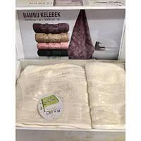 Подарочные наборы полотенец .Набор турецких полотенец ! Наборы к праздникам.Праздничные  наборы