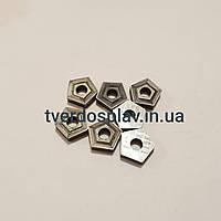 Пластина твердосплавная сменная пятигранная 10114-110408 Т15К6 (PNUM110408)