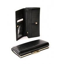Чорний жіночий гаманець Bretton