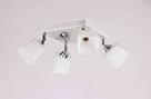 Люстра стельова на 4 лампи 06-51203/4 CR+WT+WT, фото 2