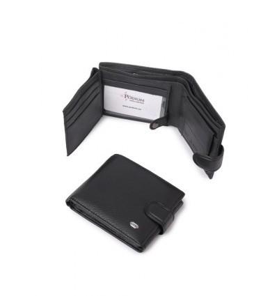 Мужской кошелек портмоне из кожи dr.Bond Classik