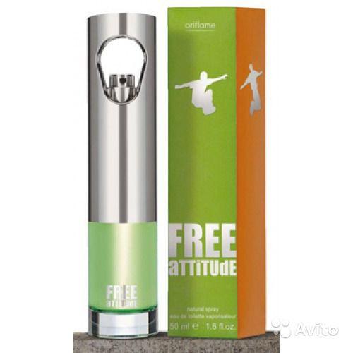 Туалетная вода для мужчины Free Attitude