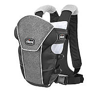 Ерго нагрудна рюкзак-кенгуру для немовлят Chicco Ultrasoft Magic Сірий (878572021)