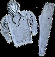 Трикотажный костюм Nike (Найк) серый